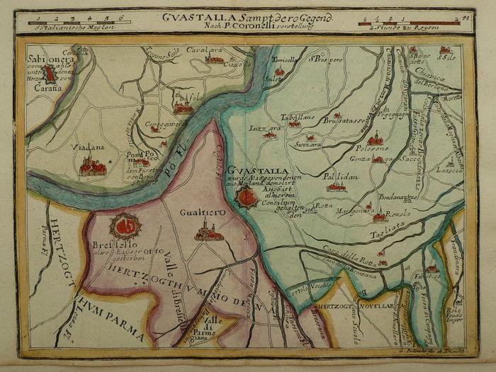 guastalla map
